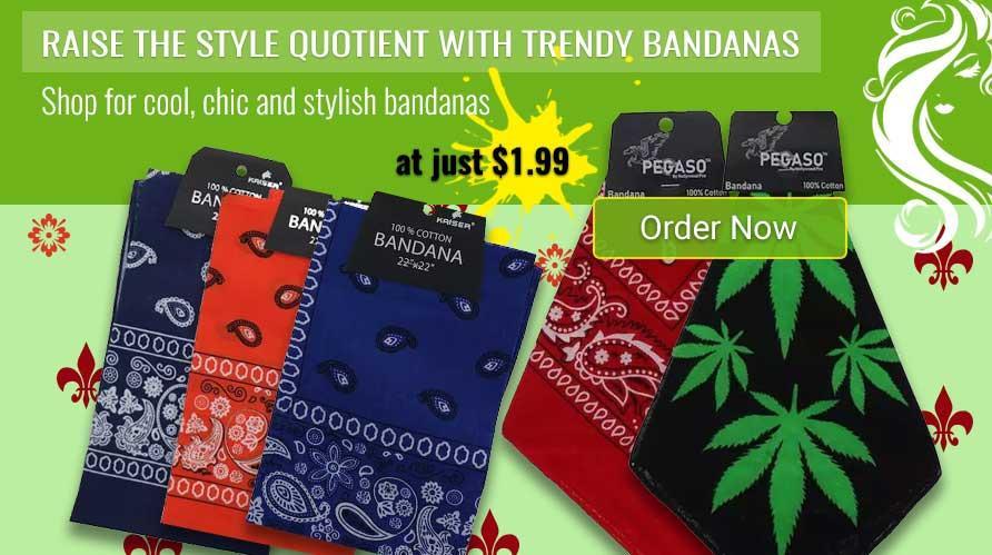 Buy Bandanas Online