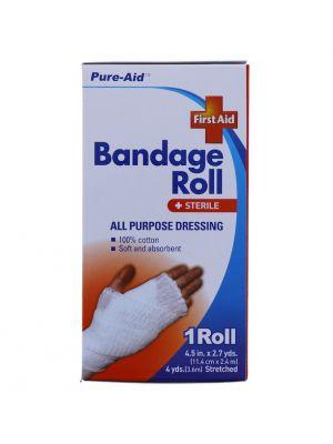 BANDAGE ROLL 1 ROLL 4.5 INCH X 2.7 YARDS