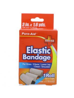 ELASTIC BANDAGE 3 INCH X 1.6 YARDS