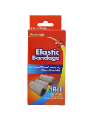 ELASTIC BANDAGE 4 INCH X 1.6 YARDS