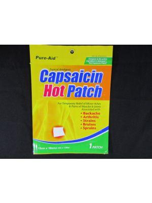 Pure Aid Capsaicin Heat Patch 1 Sheet