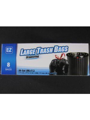 LARGE TRASH BAGS 26 GL