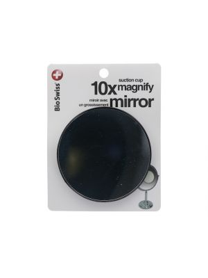 MAGNIFICATION MIRROR WITH SUCTION CUP 10 X