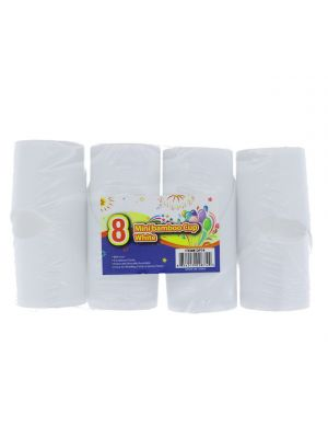 MINI BAMBOO CUP WHITE 8 COUNT