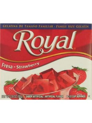 ROYAL GELATIN 2.8Z STRAWBERRY