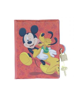 MICKEY MOUSE DIARY WITH LOCK
