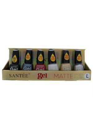 Santee Matte L Gel Effect Nail Polish