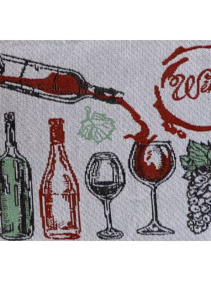WINE TAPESTRY PLACEMAT 13 INCH X 19 INCH
