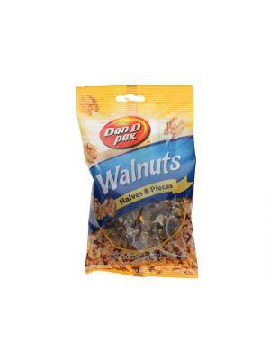 WALNUTS HALVES AND PIECES
