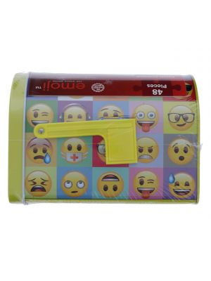 EMOJI PUZZLE IN LUNCH BOX 48 PCS