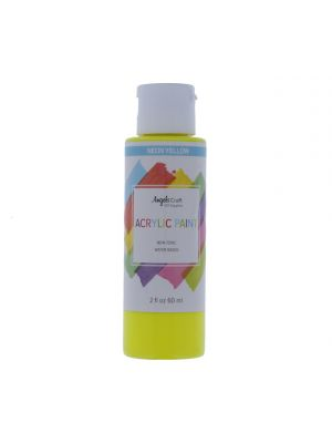 NEON YELLOW ACRYLIC PAINT 2 FL OZ