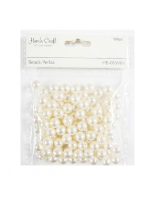 PEARL BEADS 10 INCH 100 PC