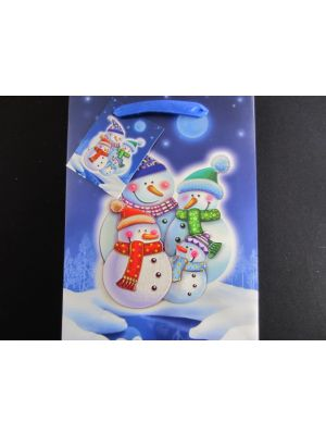 CHRISTMAS SMALL BAG SNOWMAN