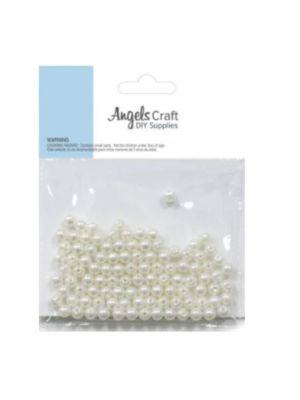 PEARL BEADS 5 MM 100 PC