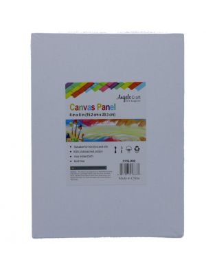 CANVAS PANEL 6 INCH X 8 INCH 2 COUNT