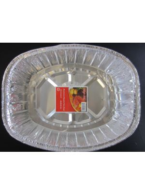 ALUMINIUM PAN OVAL 18 IN