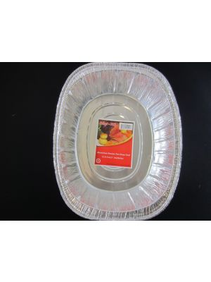 ALUMINIUM PAN OVAL 14 IN
