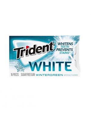 TRIDENT WINTERGREEN WHITE GUM