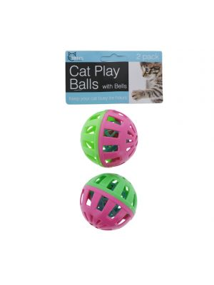 BALL WITH BELL FOR CATS