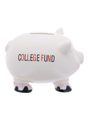 CERAMIC SAVING BANK PIG COLLEGE FUND