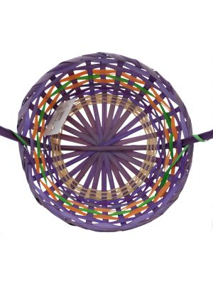 EASTER ROUND BAMBOO BASKET