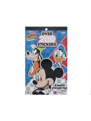 MICKEY MOUSE 200 STICKER PAD