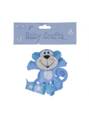 FOAM CRAFT BLUE MONKEY BLUE SMALL 2 PACK