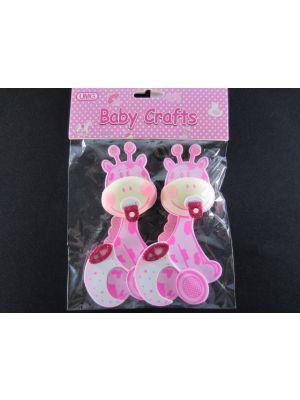 BABY CRAFT GIRAFFE PINK