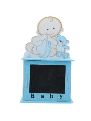 BABY BOY CHALK BOARD TREAT BOX BLUE