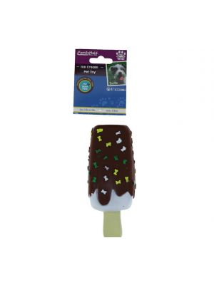 ICE CREAM PET TOY 2.35 X 6.25 INCH