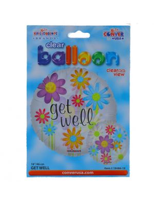 GET WELL NON LATEX BALLOON 18 INCH