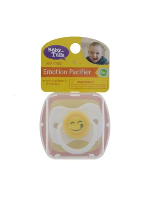 EMOTION PACIFIER IN TRAVEL BOX