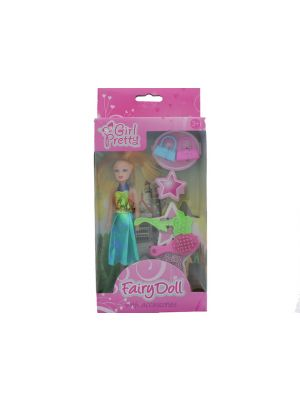 FAIRY DOLL WITH ACCESSORIES