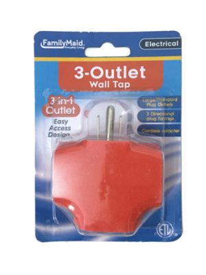 WALL TAP 3 OUTLET