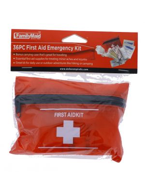 FIRST AID EMERGENCY KIT 36 PC