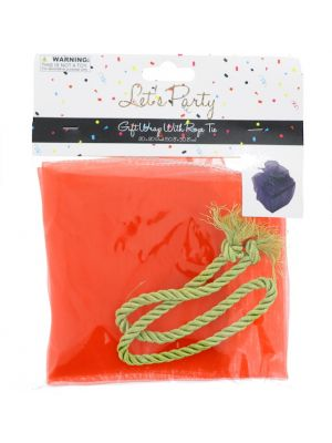 GIFT WRAP WITH ROPE TIE