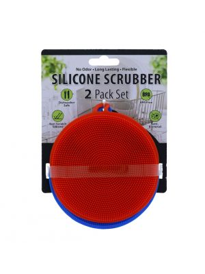 SILICONE SCRUBBER 2 PACK SET