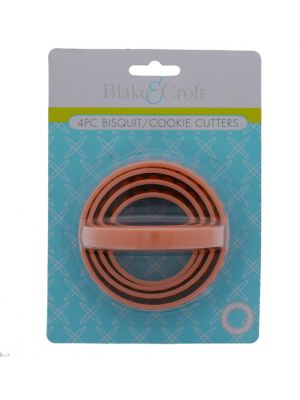 BISCUIT AND COOKIE CUTTER 4 SIZES