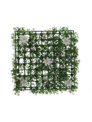 GRASS MAT WITH FLOWERS