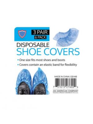 SHOE COVER 3 PAIRS