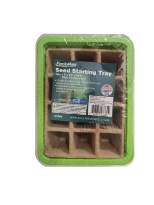 SEED STARTING TRAY 8.3 X 6.1 X 2.4 INCHES