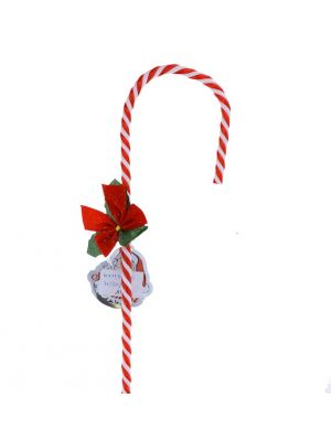 CANDY CANE WITH BOW 31 INCH
