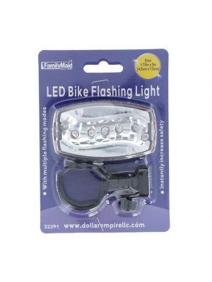 LED BIKE FLASHING LIGHT 1.75 X 3 INCH