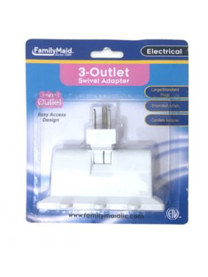 SWIVEL ADAPTER 3 OUTLET