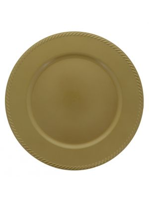GOLD PLATE CHARGER