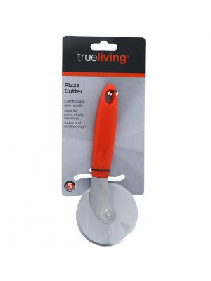PIZZA CUTTER WITH PLASTIC HANDLE