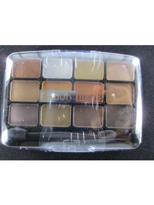 BEAUTY TREATS METALIC EYESHADOW 12 COLOR