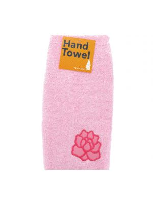 HAND TOWEL WITH ROSE 13 INCH X 28 INCH