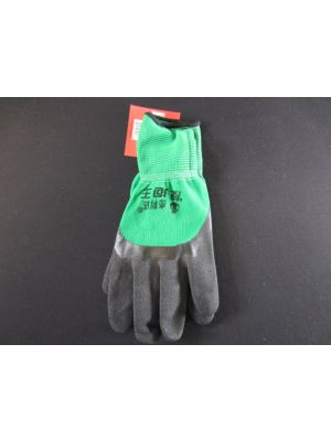 GLOVES NYLON GREEN