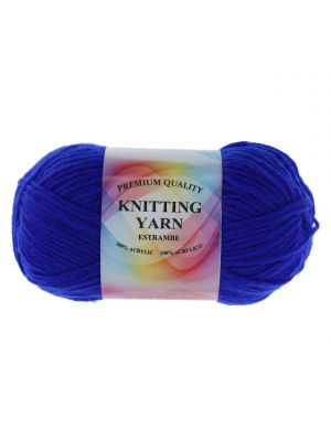 DARK BLUE ACRYLIC YARN